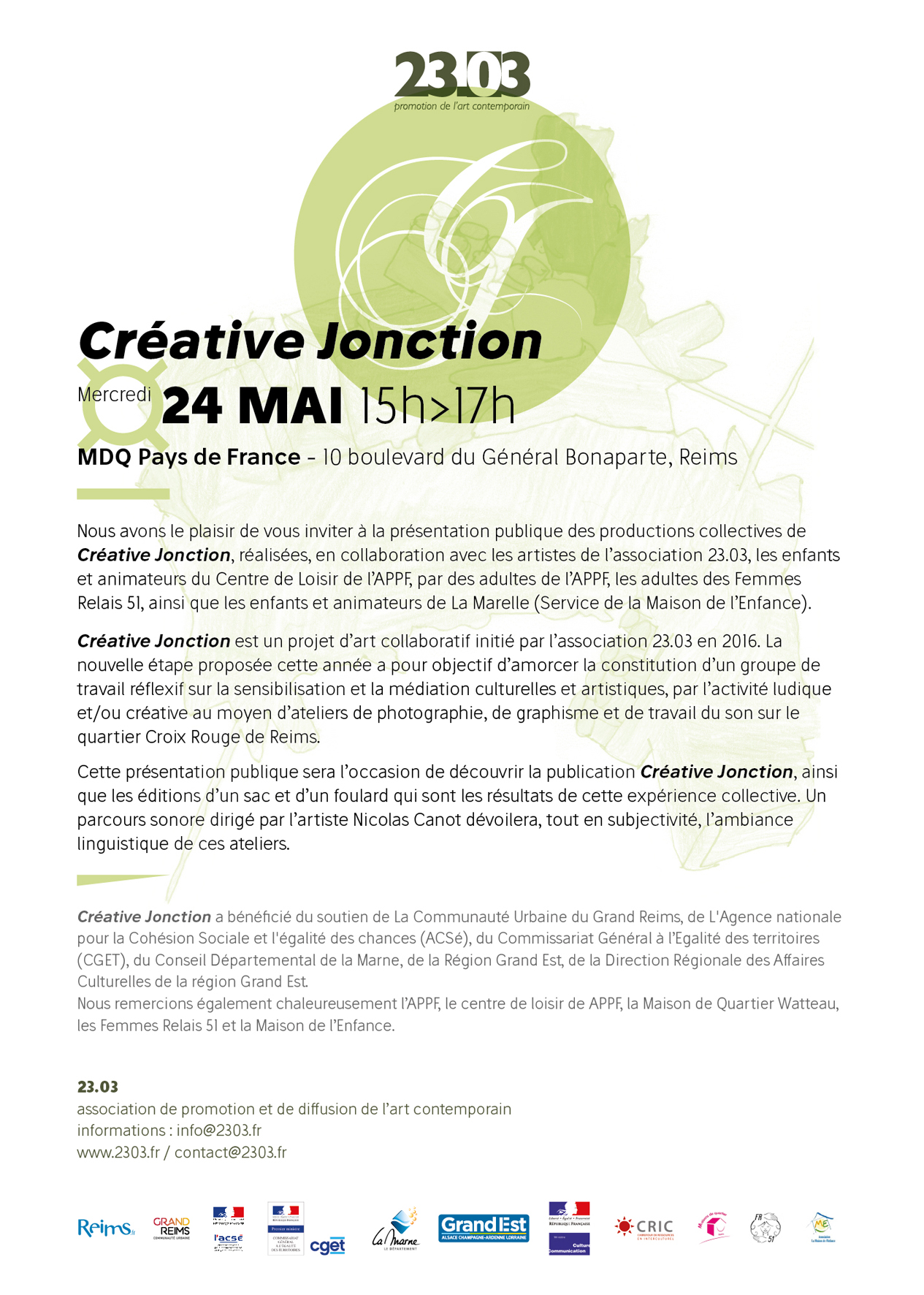 CREATIVE JONCTION